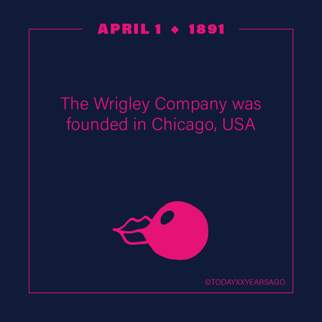 April 1 Wrigley Company