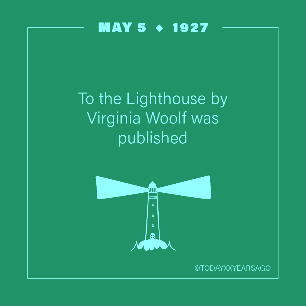 May 5 To The Lighthouse Virginia Woolf