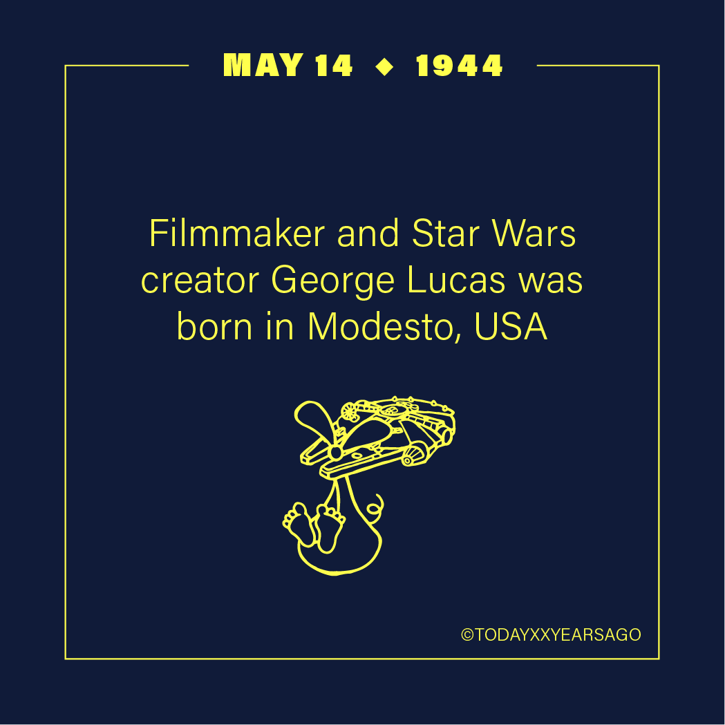 May 14 Filmmaker Star Wars Creator George Lucas Modesto