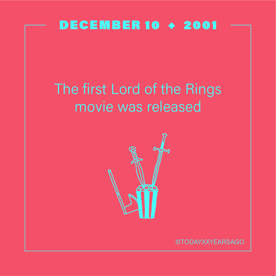 First Lord of the Rings Release
