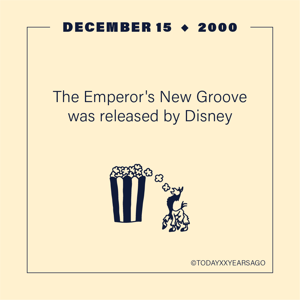 The Emperors Groove Release Disney