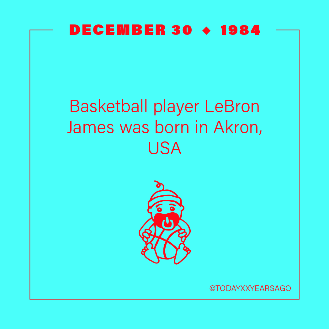 Basketball Player LeBron James Birthday