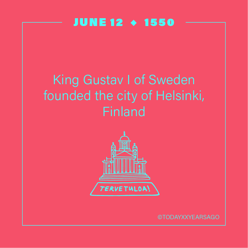 King Gustav 1 of Sweden Founded Helsinki Finland