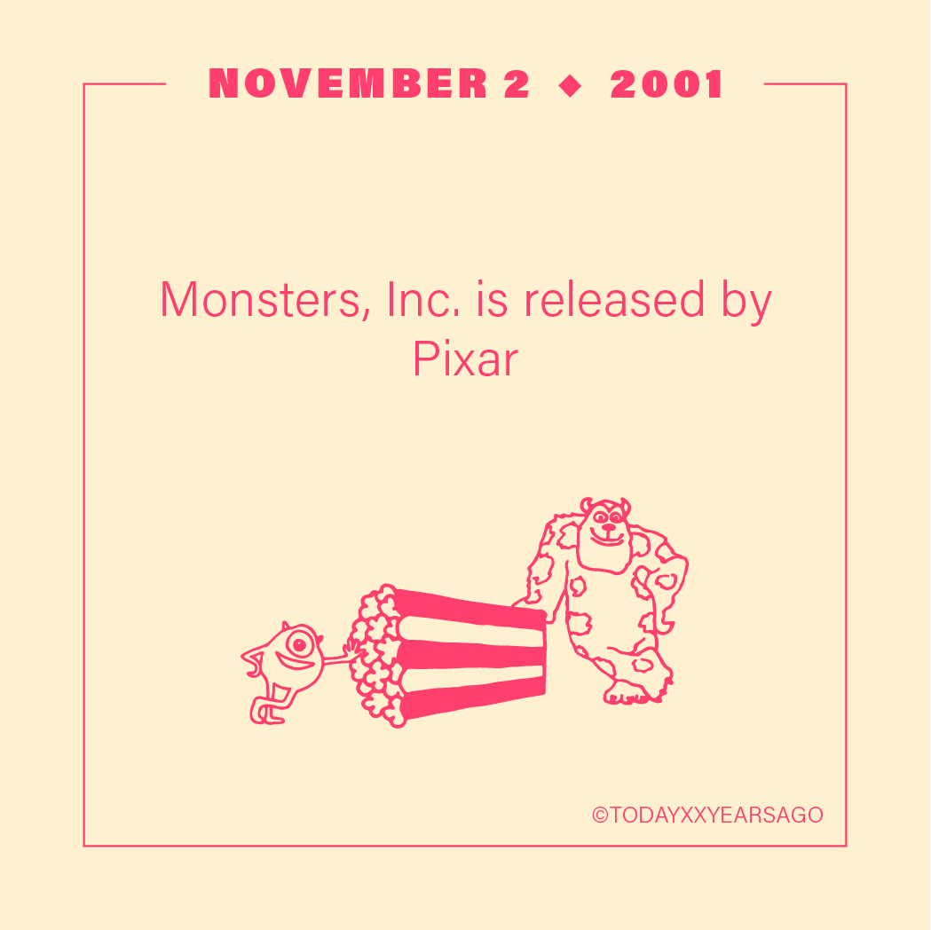 Monsters Inc Release Pixar