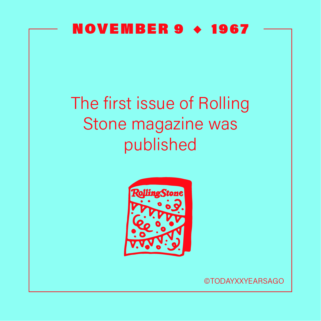 First Rolling Stone Magazine