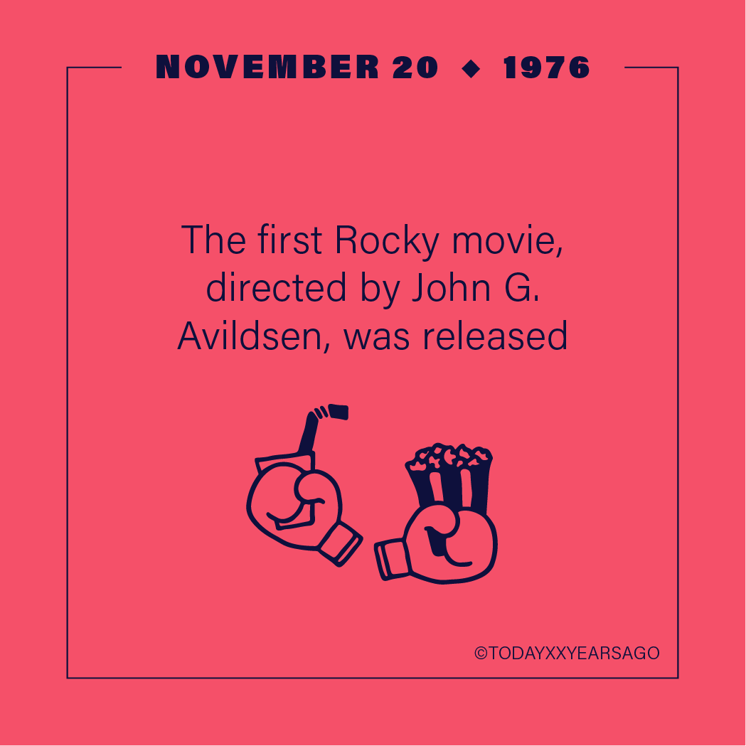 First Rocky Movie Release