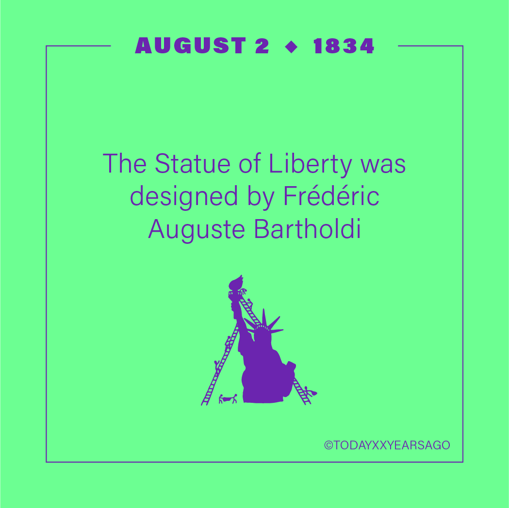 The Statue of Liberty Designed Frederic Auguste Bartholdi