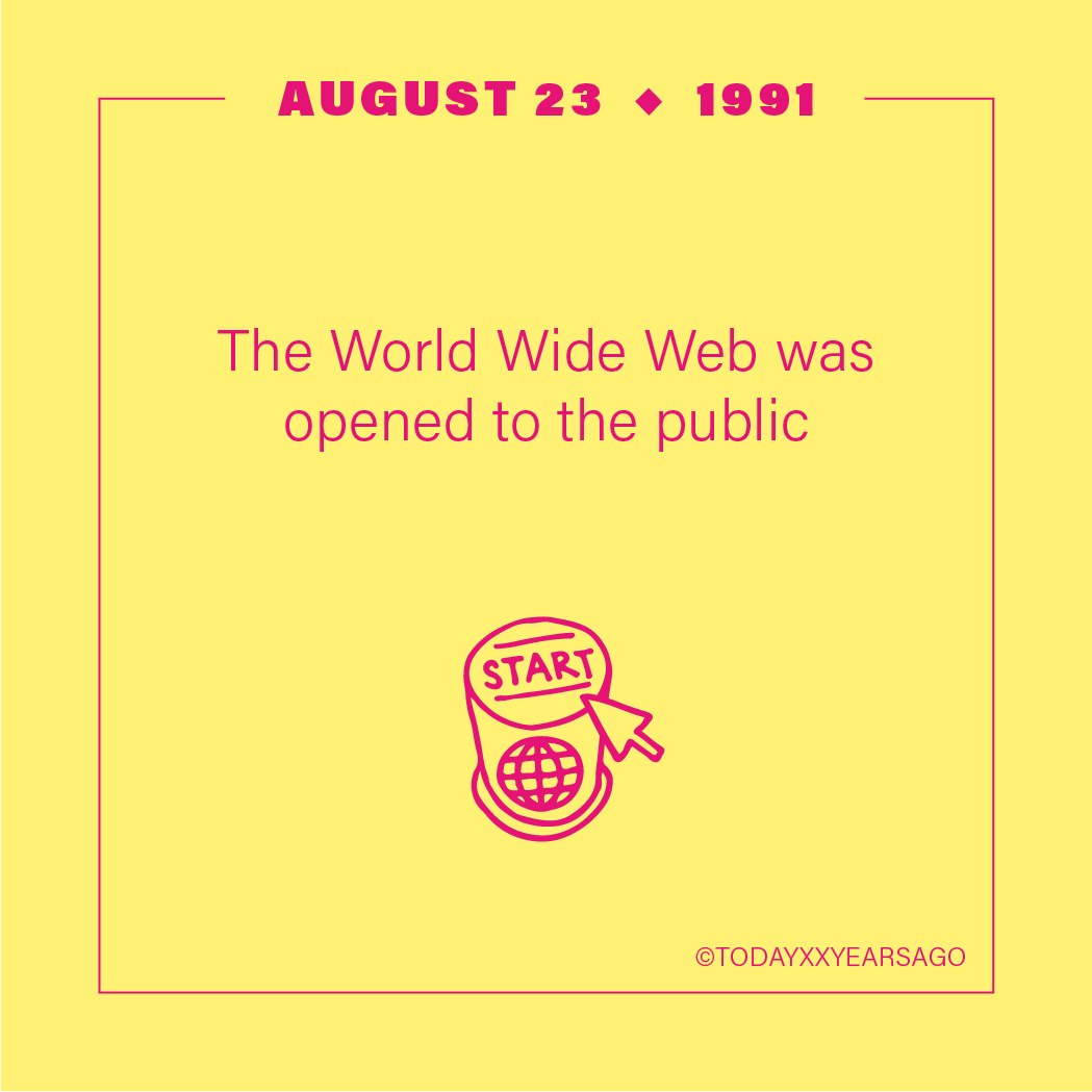 The World Wide Web Opening