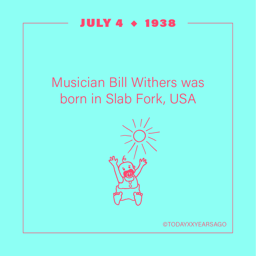 Musician Bill Withers Birthday