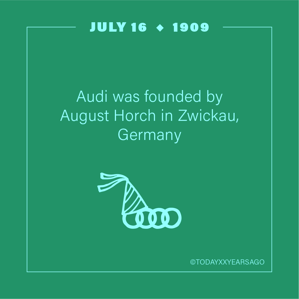 Audi Founded By August Horch Zwickau Germany