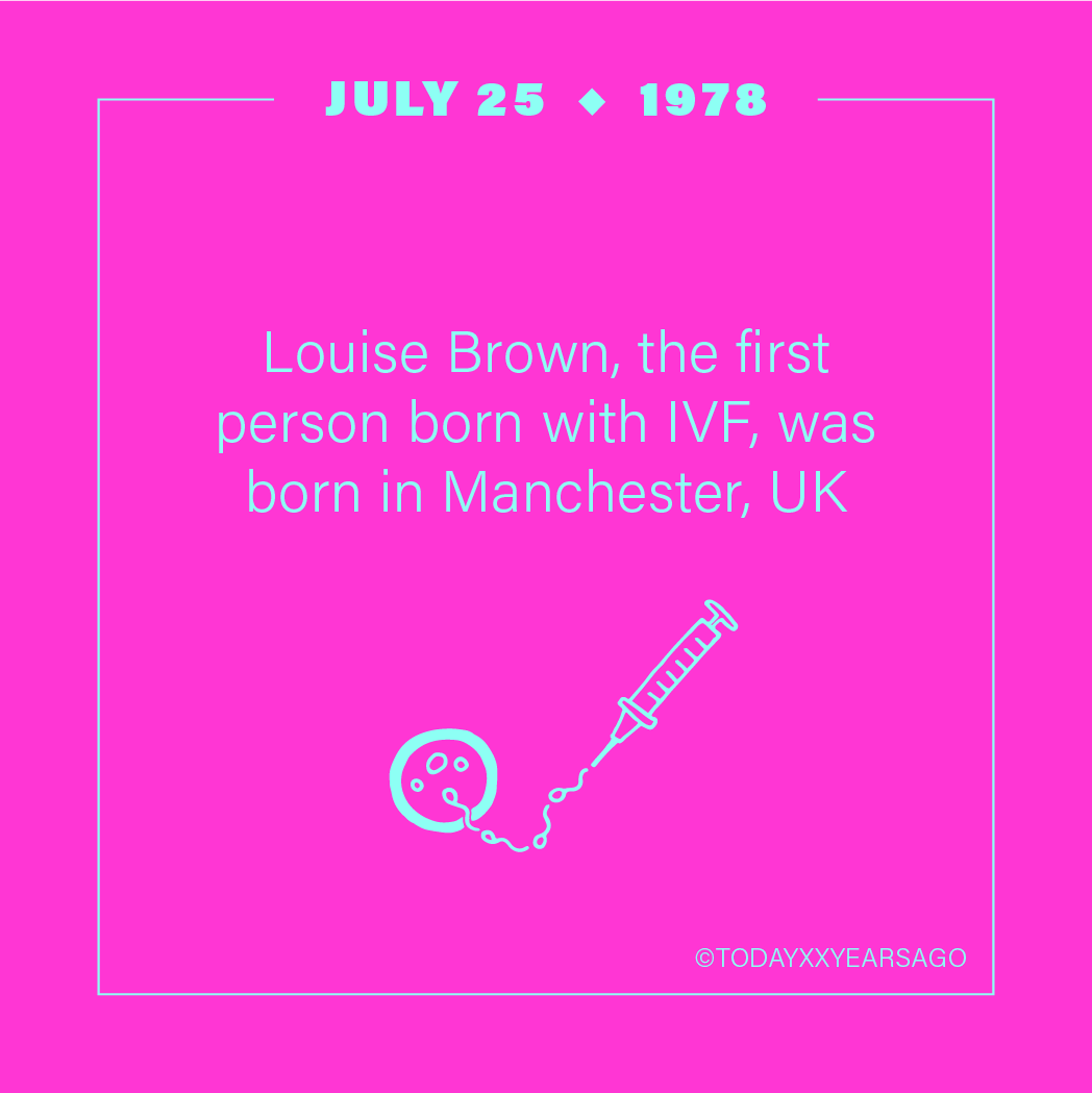 Louise Brown Was First Person Born with IVF Birthday