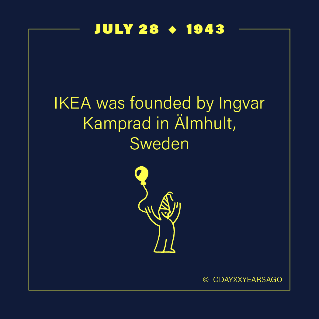 IKEA Founded By Ingvar Kamprad Almhult Sweden