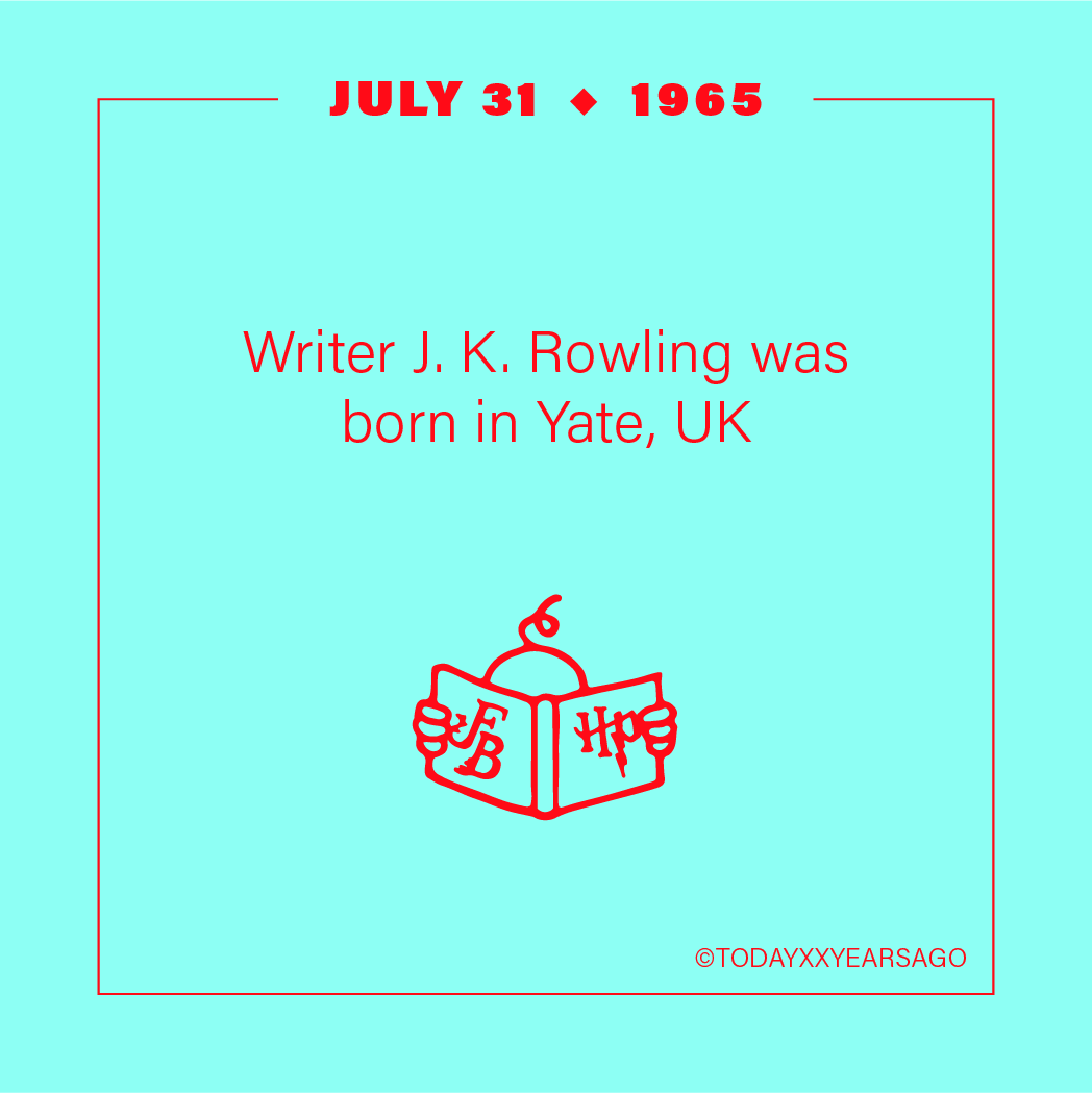 Writer J K Rowling Birthday