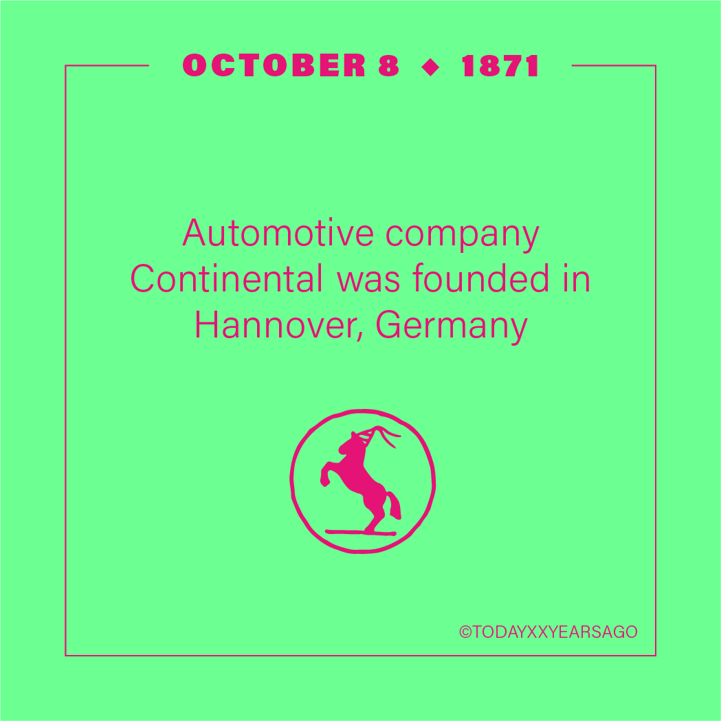 Automotive Company Continental Founded Hannover Germany