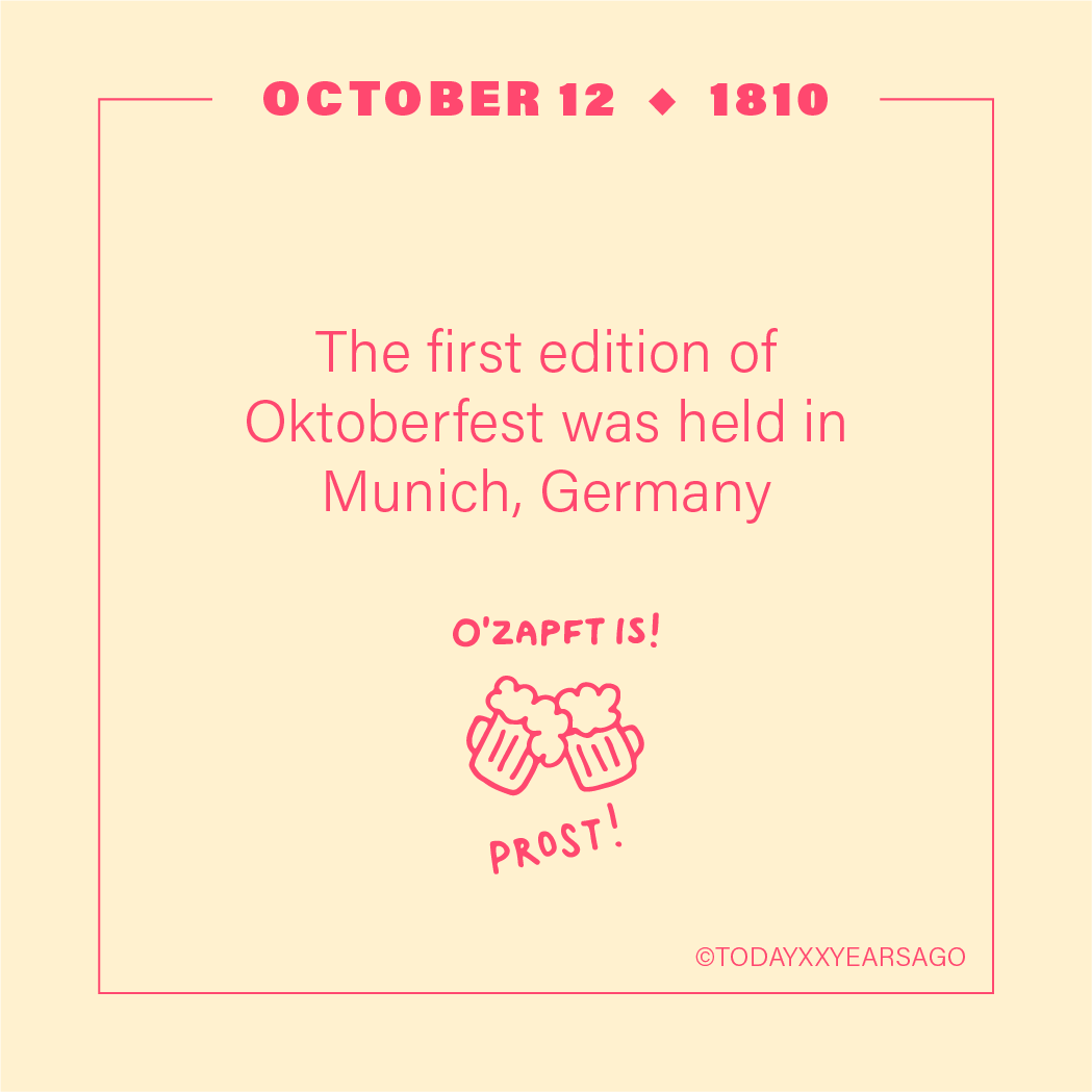 First Edition Oktoberfest Munich Germany