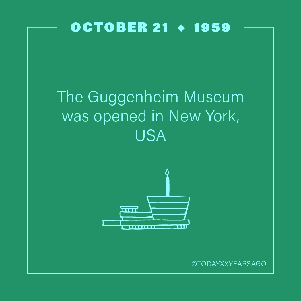 The Guggenheim Museum Opening New York