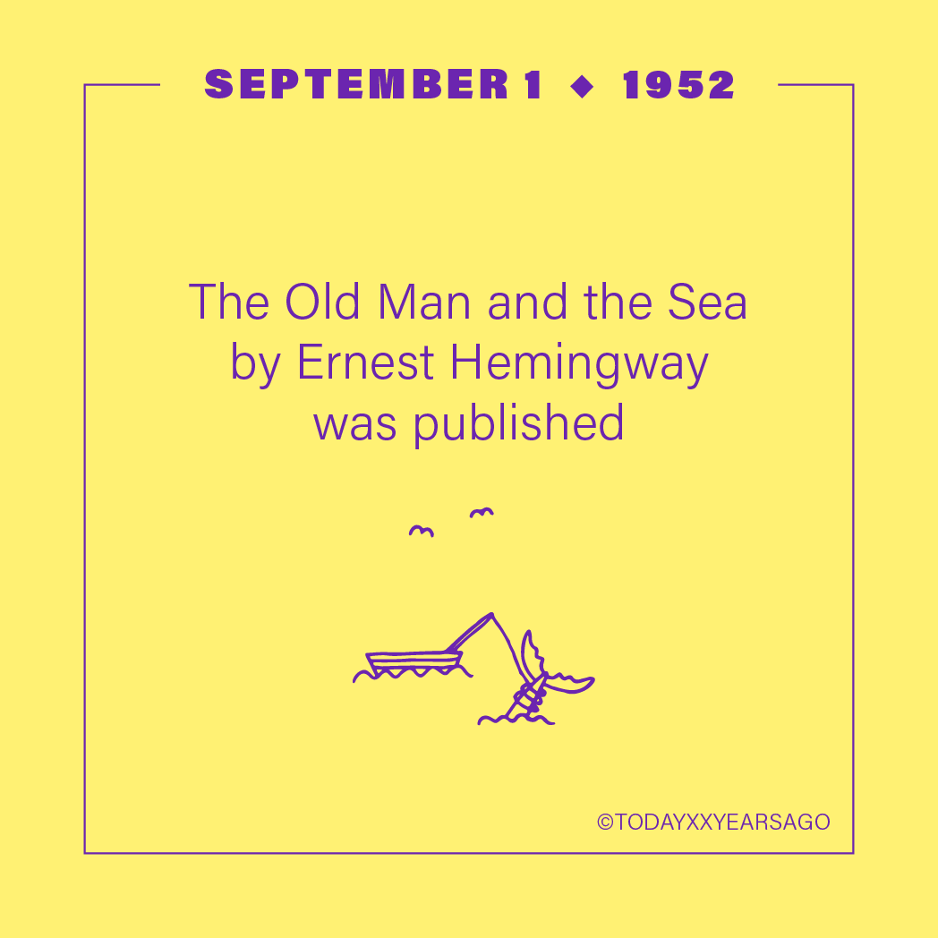 The Old Man and the Sea Ernest Hemingway Publication