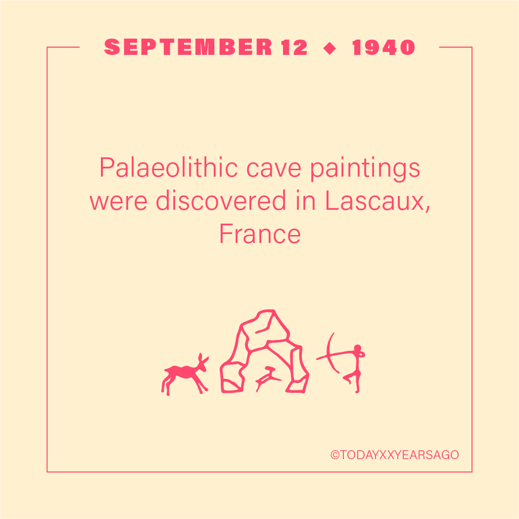 Paleolithic Cave Paintings Discovery Lascaux France