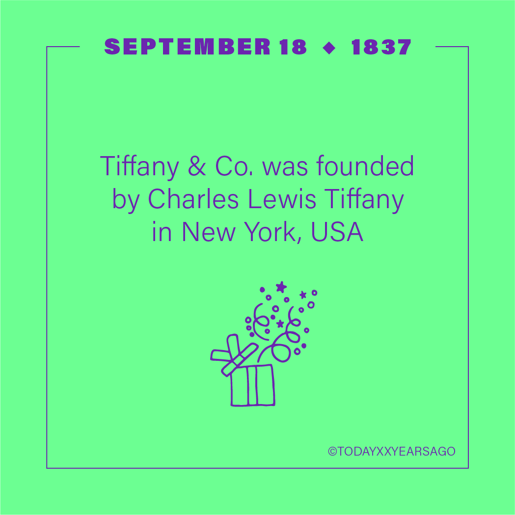 Tiffany and Co Founded Charles Lewis Tiffany New York
