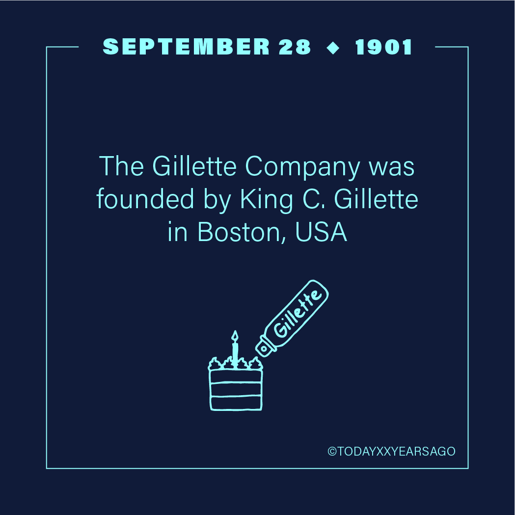 The Gilette Company Founded King C Gilette